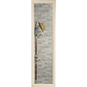 Зеркало Мебелик Селена слоновая кость настенное