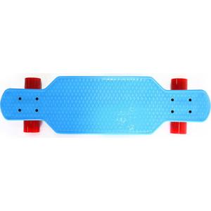 Скейтборд Hubster Cruiser 29 синий с красными колесами 9385П пенни борд hubster cruiser 22 metallic purple