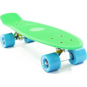 Скейтборд PWSport Classic 22 зеленый-синий ВО3775-4 скейтборд pwsport grip 22 sunset