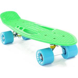 """Скейтборд PWSport Fish 22"""" зеленый ВО3778-3"""