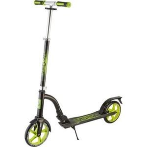 Самокат городской NOVATRACK VERSA max 100кг колеса 200 мм зеленый