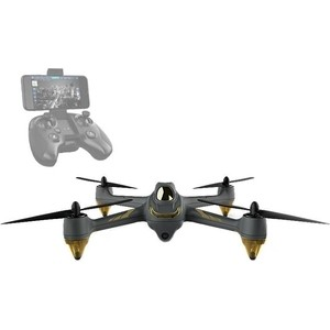 Радиоуправляемый квадрокоптер Hubsan X4 FPV RTF 2.4G fpv mini 5 8g 150ch mini fpv receiver uvc video downlink otg vr android phone tablet pc fpv mobile phone display receiver
