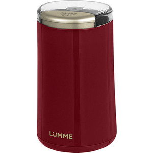 Кофемолка Lumme LU-2603 красный гранат цена и фото