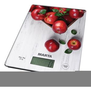 Кухонные весы Marta MT-1634 яблоневый сад кольцо голубой топаз beatrici lux кольцо голубой топаз