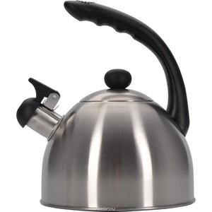 Чайник 1.8 л со свистком Regent Promo (94-1501) чайник regent inox linea promo со свистком цвет красный 2 5 л