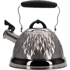 Чайник 2.4 л со свистком Regent Promo (94-1504) чайник regent inox linea promo со свистком цвет красный 2 5 л