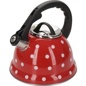 Чайник 2.8 л со свистком Regent Promo (94-1507) чайник regent inox promo со свистком 2 3 л 94 1503