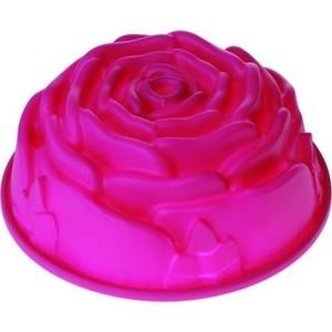 Форма 23.5х9.5 см Regent Silicone Роза (93-SI-FO-13) форма для кекса круглая 26х6 см regent silicone 93 si fo 02 1