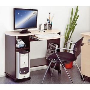 Стол компьютерный Олимп Костер - 3 венге /клен азия