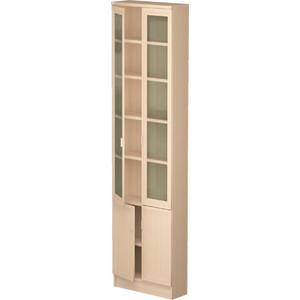 Шкаф комбинированный Олимп В-18 дуб линдберг