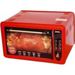 Мини-печь AKEL AF 710 (красный)