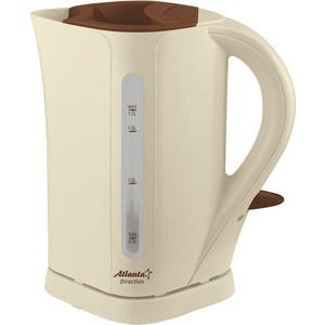 Чайник электрический Atlanta ATH-2303 бежевый чайник atlanta ath 2591