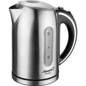 Чайник электрический Atlanta ATH-2425 atlanta ath 2426 silver black чайник электрический