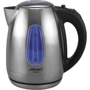 Чайник электрический Atlanta ATH-2426 atlanta ath 2426 silver black чайник электрический