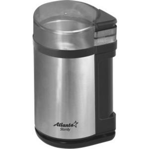 Кофемолка Atlanta ATH-3393 черная кофемолка atlanta ath 3391 коричневый