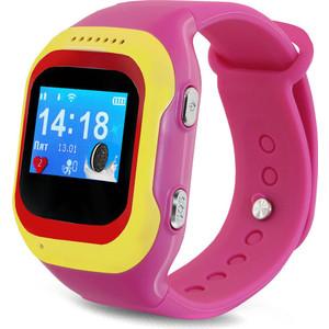 Детские умные часы Ginzzu GZ-501 pink ручной пылесос handstick ginzzu vs407 90вт черный
