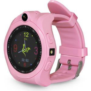 Детские умные часы Ginzzu GZ-507 pink детские часы с gps поиском ginzzu gz 521 brown 1 44 touch nano sim 16834