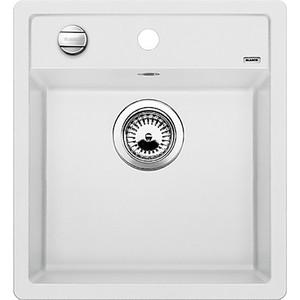 Мойка кухонная Blanco Dalago 45 белый с клапаном-автоматом (517160) мойка dalago 45 f rock grey 518847 blanco
