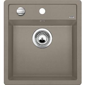 Мойка кухонная Blanco Dalago 45 серый беж с клапаном-автоматом (517317) мойка dalago 45 f rock grey 518847 blanco