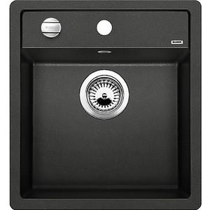 Мойка кухонная Blanco Dalago 45 антрацит с клапаном-автоматом (517156)  кухонная мойка blanco dalago 45 антрацит