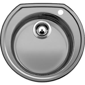 Мойка кухонная Blanco Rondoval нерж сталь декор (513314) кухонный смеситель blanco actis нерж сталь