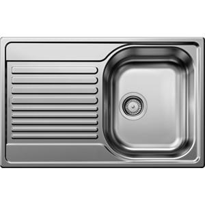 Мойка кухонная Blanco Tipo 45 s compact нерж сталь матовая (513441) кухонная мойка blanco tipo 45 s compact нерж сталь декор