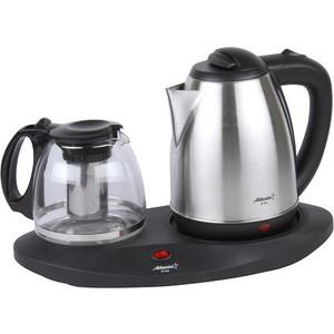 Чайник электрический Atlanta ATH-2591 черный цена и фото