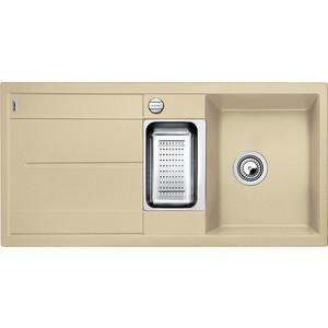 Мойка кухонная Blanco Metra 6 s шампань с клапаном-автоматом (513939)