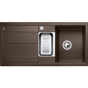 Мойка кухонная Blanco Metra 6 s кофе с клапаном-автоматом (515045)