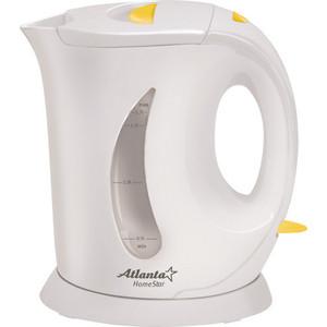 Чайник электрический Atlanta ATH-735 серый чайник atlanta ath 735 blue