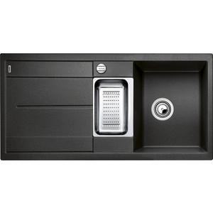 Мойка кухонная Blanco Metra 6 s антрацит с клапаном-автоматом (513053) мойка blanco metra 6 s silgranit 513053 антрацит размер шхд 100см х 50см