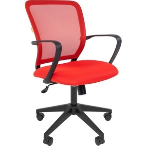 Офисноекресло Chairman 698 TW красный офисноекресло chairman 698 серый пластик tw красный