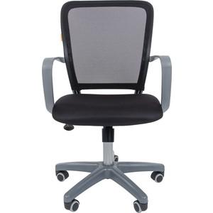 Офисноекресло Chairman 698 серый пластик TW черный офисноекресло chairman 698 серый пластик tw красный