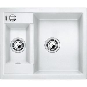 Фотография товара мойка кухонная Blanco Metra 6 белый с клапаном-автоматом (516157) (85209)
