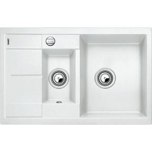 Мойка кухонная Blanco Metra 6 s compact белый с клапаном-автоматом (513468) смеситель для мойки blanco actis coffee