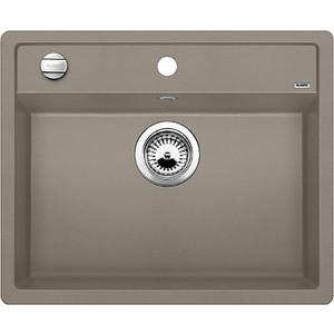 Мойка кухонная Blanco Dalago 6 серый беж с клапаном-автоматом (517320) смеситель для мойки blanco actis coffee