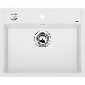 Мойка кухонная Blanco Dalago 6 белый с клапаном-автоматом (514199) blanco dalago 5 жасмин с клапаном автоматом 518525