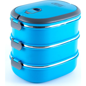 Ланч-бокс с тремя контейнерами Gipfel (0293) ланч бокс с двумя контейнерами gipfel 0292