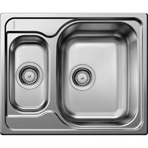 Мойка кухонная Blanco Tipo 6 basic нерж сталь полированная (514813) кухонная мойка blanco tipo 6 basic нерж сталь матовая