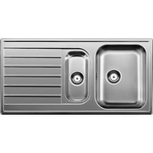 цена на Мойка кухонная Blanco Livit 6 s нерж сталь декор акснерж сталь (514797)