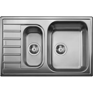 Мойка кухонная Blanco Livit 6 s compact нерж сталь декор (515794)