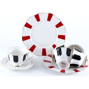 Сервиз чайный 18 предметов на 6 персон Gipfel Modern (3875) gipfel сервиз столовый modern на 6 персон 18 предметов