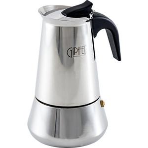 Гейзерная кофеварка 300мл на 6 чашек Gipfel Iris (5326) кофеварка гейзерная gipfel 5393 azzimato 300мл