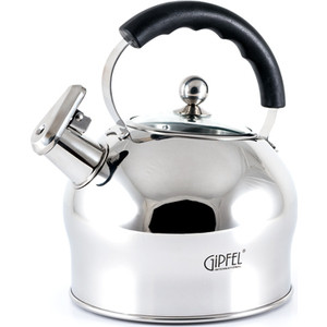 Чайник 2.5 л со свистком Gipfel Mattino (8605) gipfel чайник для кипячения воды visit 2 7 л