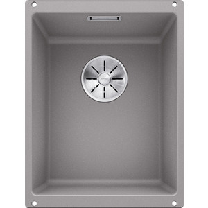 Мойка кухонная Blanco SubLine 320-u алюметаллик (523408/513407) blanco мойка кухоннаяblanco supra 500 u сталь без клапана