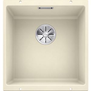Фотография товара мойка кухонная Blanco SubLine 400-u жасмин с клапаном-автоматом (515755) (85298)