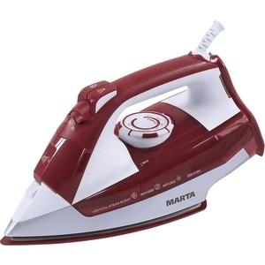 Утюг Marta MT-1128 красная яшма набор столовых приборов marta mt 2701 twinkle