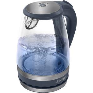 Чайник электрический Lumme LU-220 серый жемчуг безмен lumme lu 1326