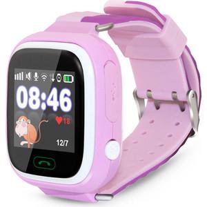 Детские умные часы Ginzzu GZ-505 pink детские часы с gps поиском ginzzu gz 521 brown 1 44 touch nano sim 16834
