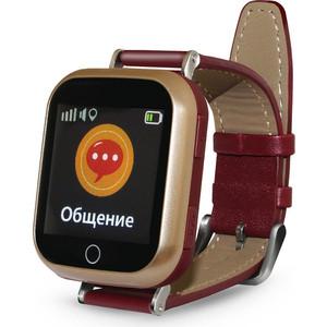 Детские умные часы Ginzzu GZ-521 brown детские часы с gps поиском ginzzu gz 521 brown 1 44 touch nano sim 16834